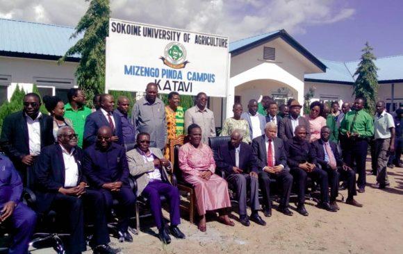 Sokoine University of Agriculture launches new campus in Katavi region, named Mizengo Pinda